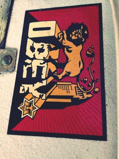 Sticker OBEY Badass Shepard Fairey