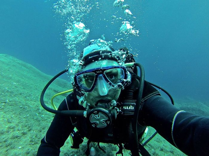 Scuba Diving Enjoying Life Hello World ThatsMe