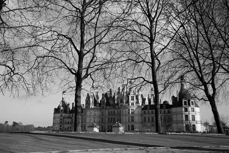 Chateau De Chambord Chambord Taking Photos Balck&White Black. White France Photo By Ivy Love Life The Great Outdoors - 2015 EyeEm Awards