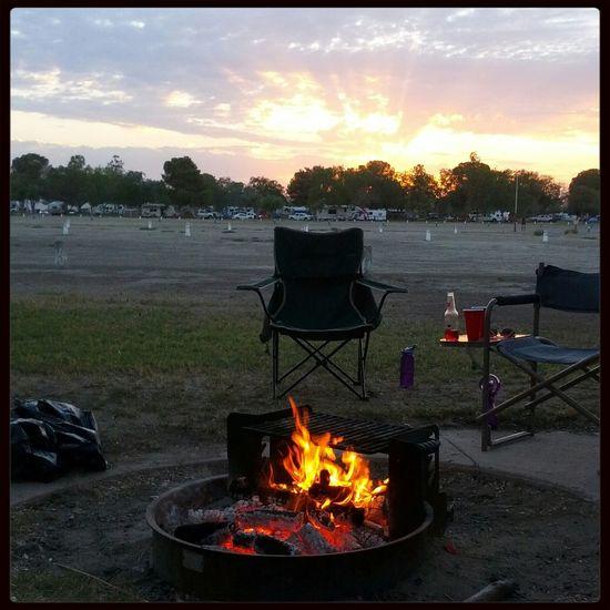 Buena Vista Camping Relaxing Time Enjoying Life