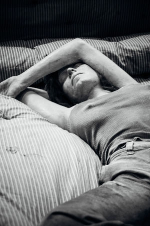 Art ArtWork Human Representation Kunsten Kurt Trampedach Lying On Back Manequin Relaxation Resting Sleeping