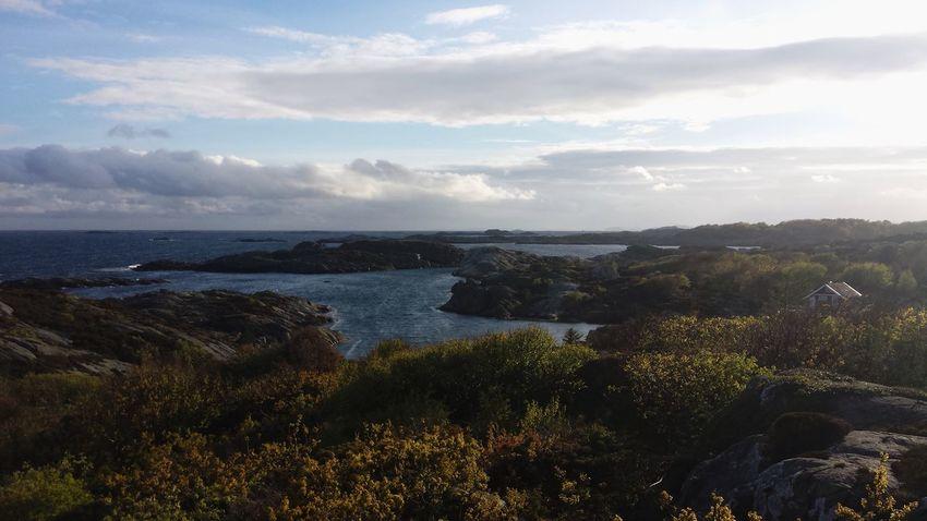 Flekkerøy Ocean Sea Seaside Rocks Coast Coastline Norway