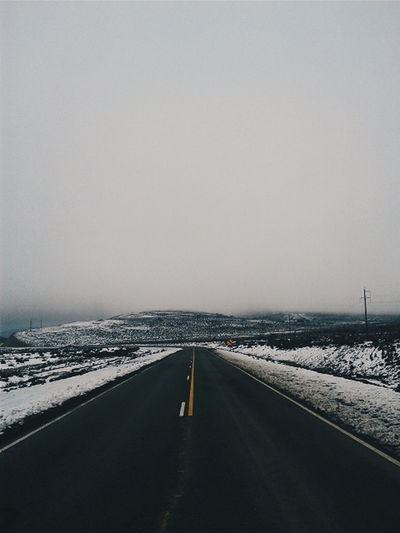 An only way.. Malargue Argentina Route Winter Snow Family Place Peace Nordic Folk Cloudy Photo Of The Day