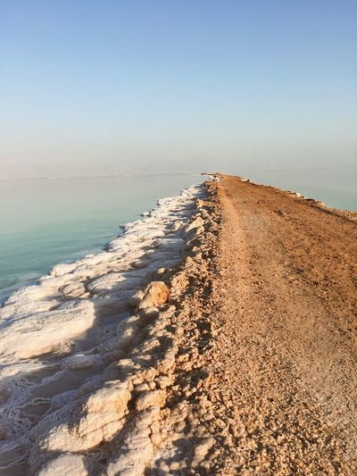 S A L T Salt Salty Water Israel Dead Sea  Water Sea Beach Sky Land Scenics - Nature Tranquility Horizon Over Water Beauty In Nature Sand Clear Sky