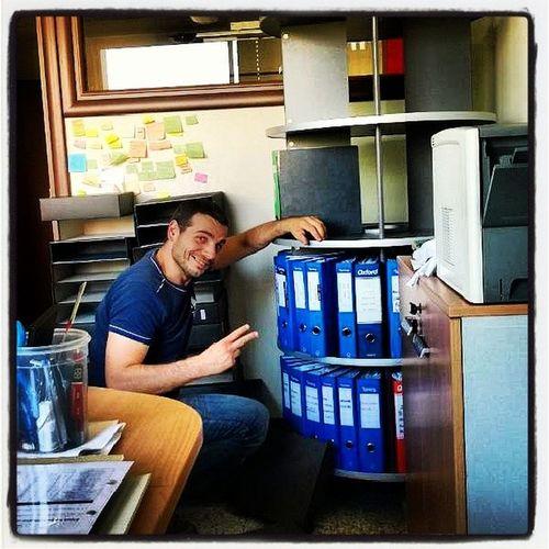 Si lavora duro!!!! Atwork Me Andreapirovonophoto