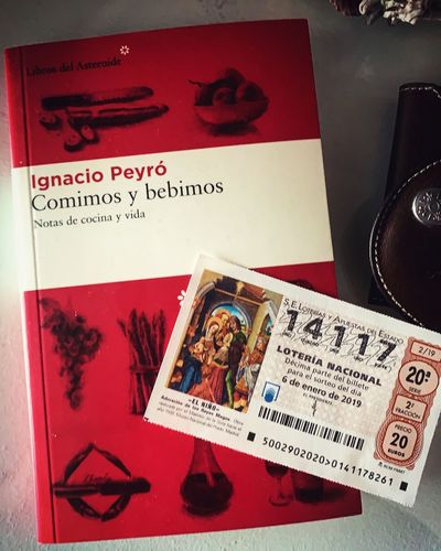 #books #Libros #Loteria 2019 #Detodounpoco Text Western Script Communication Representation No People Human Representation High Angle View