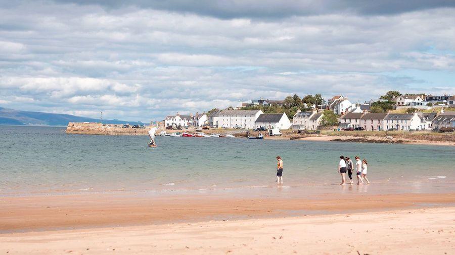 Scotland Scotland Water Land Sea Beach Cloud - Sky Sky Sand Water Land Sea Beach Cloud - Sky Sky Sand