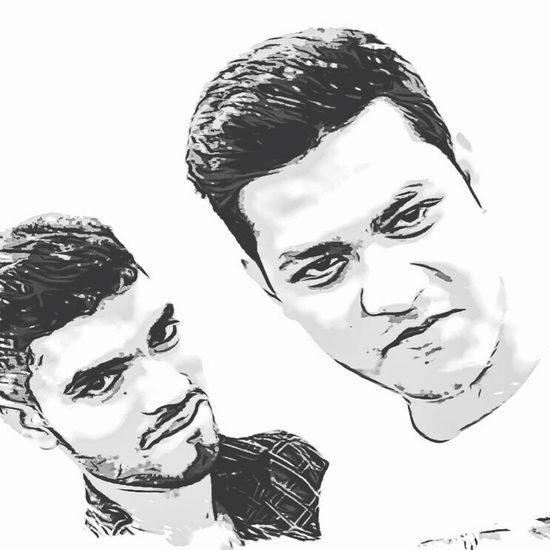With my little brother who is my best friend too IPhoneography Talking Photos Black & White Selfie ✌ Chilling Enjoying Life ♥ Friends Brother ❤