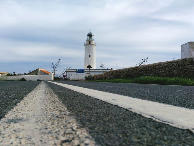 Road...for lighthouse