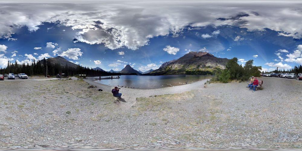 Tranquil Scene Panoramic Mountain BigSkyCountry Montana Montana Sky