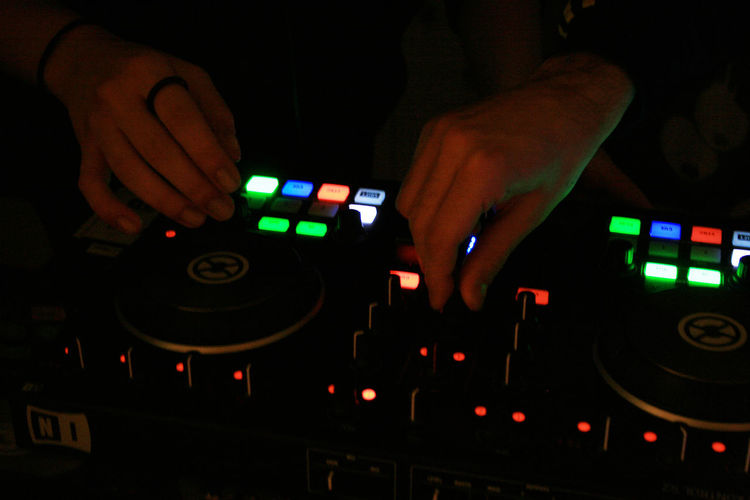 Colors Dj DJing Hands Party Pioneer Ring Traktor