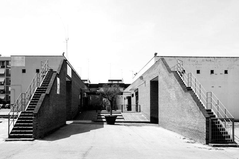 Walkway leading towards building