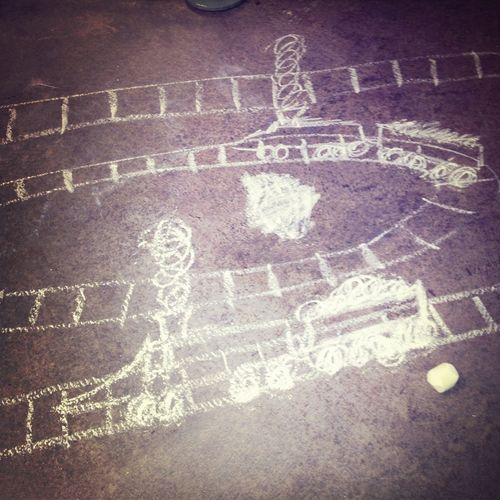 Chalk Trains