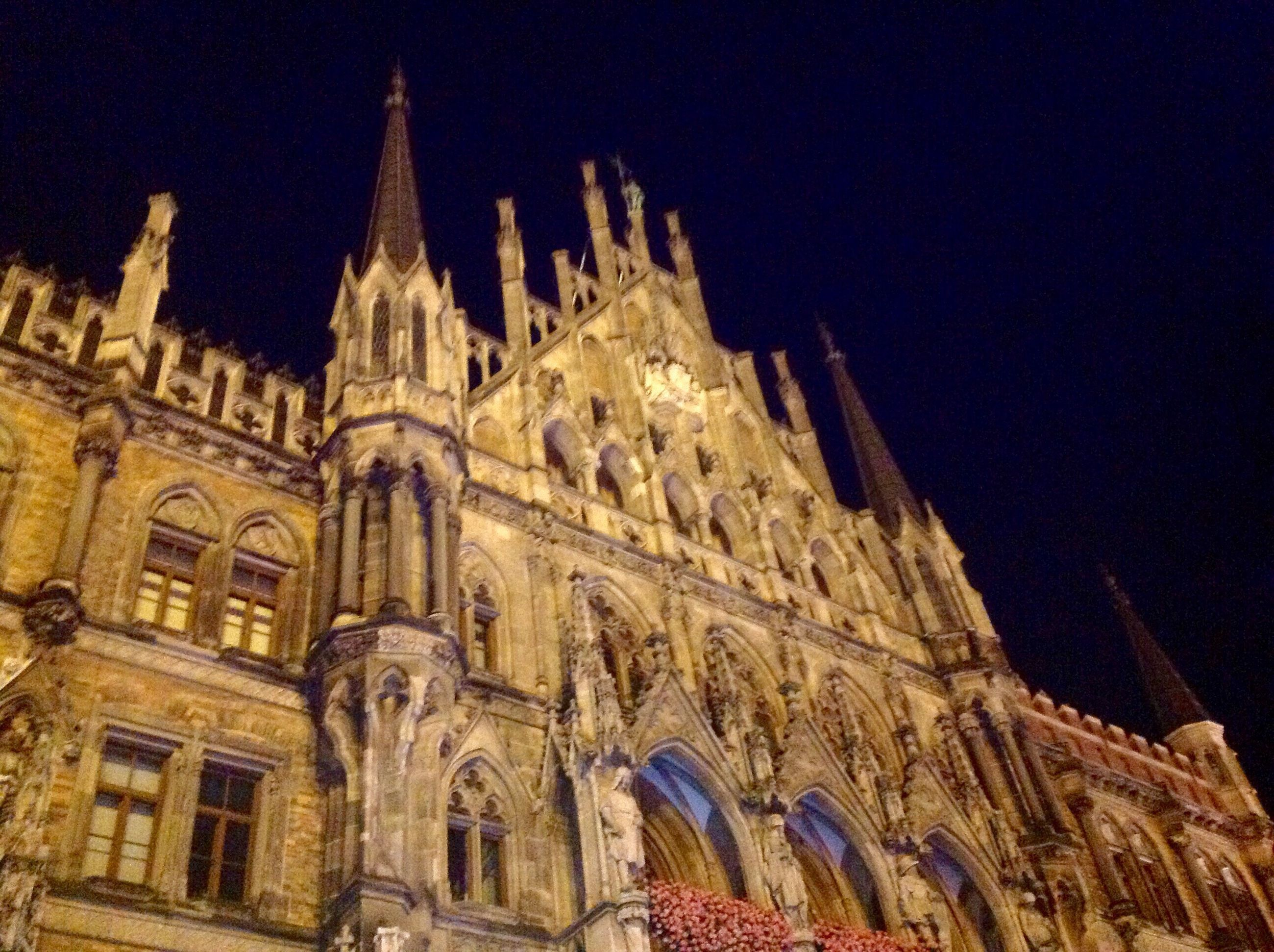architecture, building exterior, built structure, spirituality, low angle view, religion, place of worship, church, cathedral, clear sky, travel destinations, famous place, history, architectural feature, facade, spire, sky, outdoors, tourism, steeple, milan cathedral, gothic style, majestic, spanish culture, medieval