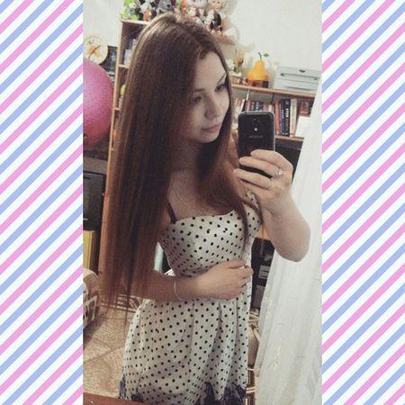 Пора изменений😝😊 Evita Hair Colour Style Girl Like Spring Goodtime Insta Dress Selfie Change Face Dye