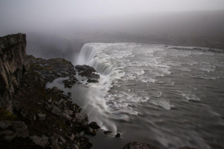 Waterfall Fog