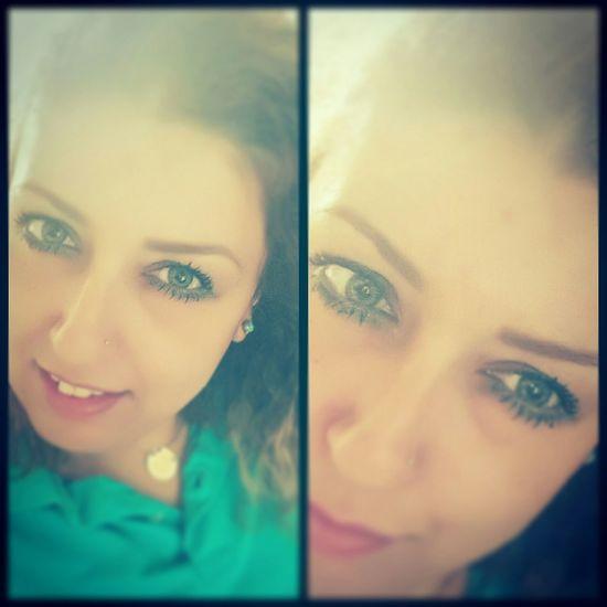 Gözler kalbin aynasıdır 😊👐✌Selfie That's Me Ankara Batıkent Eyes Iyiaksamlar Hi! Okbye :)