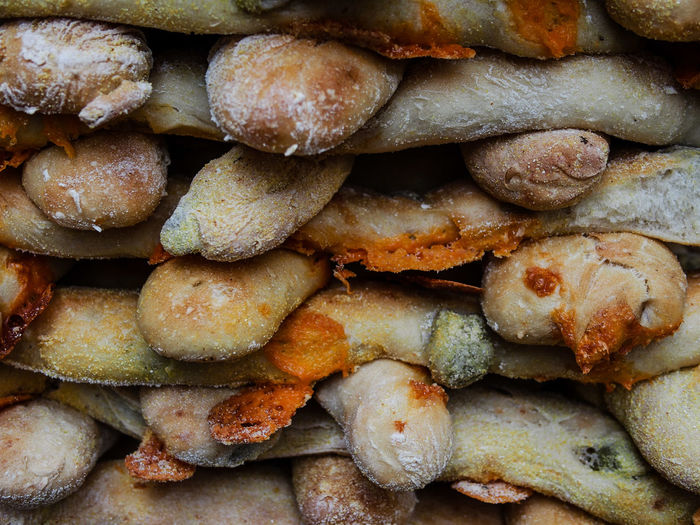 Detail shot of bread