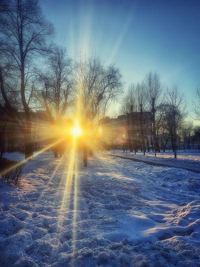 Where the sun
