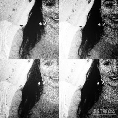 Blackandwhite Happy People Smileee(: Retrica ♥