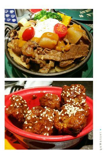 牛筋嫩嫩的~雞肉不會很辣~~ CookBEEF 大脘辣味牛筋 墨西哥辣雞 酷必 五星級牛排飯