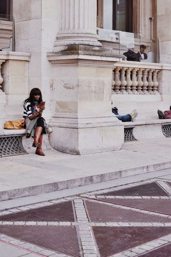A week in Paris (22) CopyrightPiotrSzuber Paris Louvre Streetphotography Streetlife The Street Photographer - 2015 EyeEm Awards The Portraitist - 2015 EyeEm Awards Picturing Individuality VSCO Vscocam M5