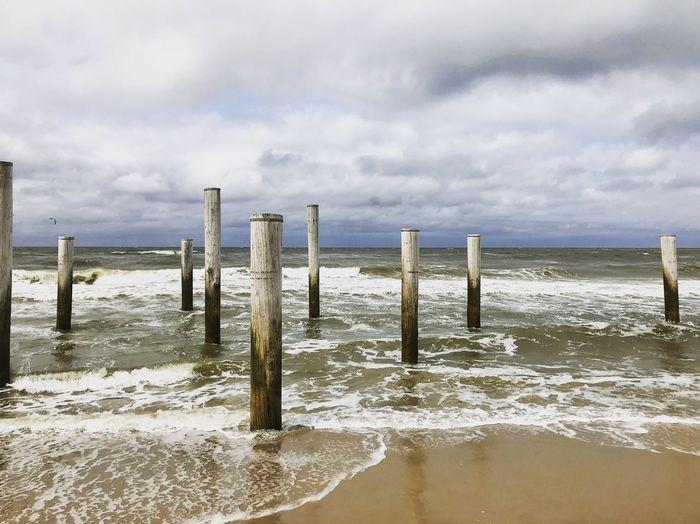 Ocean Ocean Netherlands Petten Cloud - Sky Sky Water Beach Land Sea Sand