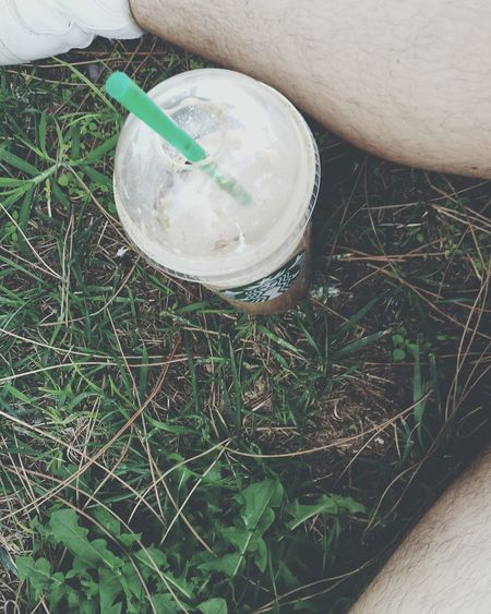 Starbucks coconut mocha coffee with caramel Coffee Starbucks Green Green Color Majestic Outdoors Beauty In Nature Nature Tranquility Park No People Close-up Starstarbuckscoffee