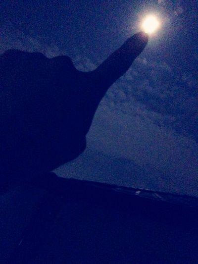 スーパームーン Moon Light Beautiful Moon  Full Moon Moonnright moonnright