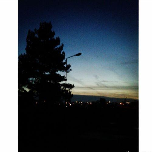 Grazus vakaras buvo :) Beautiful Evening Friday Night Nature Kelmes Parkiukas :D Lietuva Sekam Follow Me
