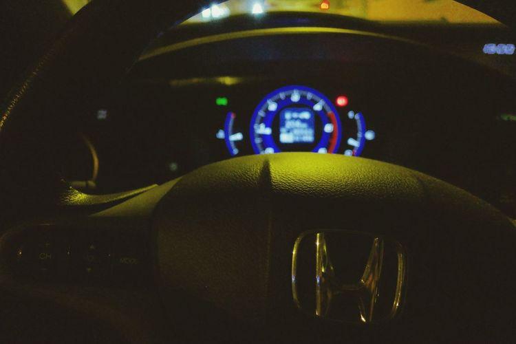 H Cars Honda Honda Civic Transportation Car Mode Of Transport Car Interior Vehicle Interior Dashboard Speedometer Control Panel No People Indoors  Soft1 Lumix Dmc-cm1