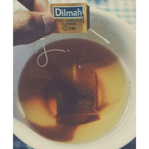 Tea time. CamomileTea