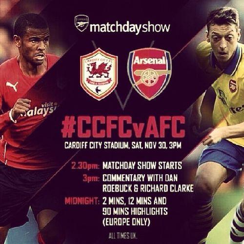 CardiffCity vs Arsenal ● CCFCvAFC
