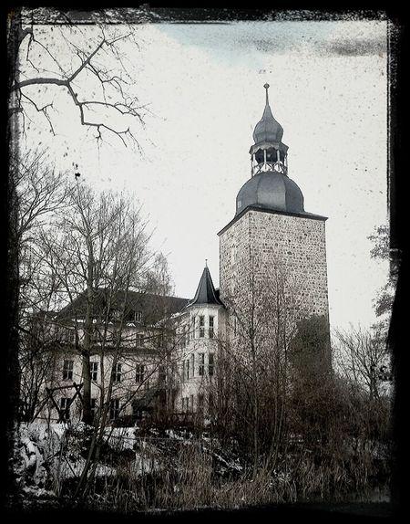 Winter Schloss Schloss Möckern
