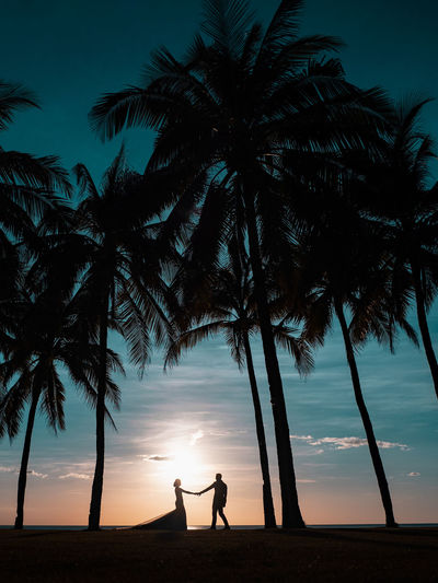 Sunsets with you Love Couple Sky Silhouette Real People Tree Beauty In Nature Togetherness Two People Nature Sunset Tropical Climate Palm Tree Lifestyles Scenics - Nature Positive Emotion Outdoors Wedding Sunset Silhouettes This Week On Eyeem EyeEm Best Shots #NotYourCliche Love Letter