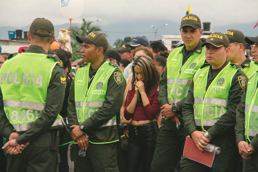 Colombia El Papa El Papa En Colombia PAPA FRANCESCO Papa Francisco Pope Villavicencio Villavicencio Meta Crowded Pope Francis  Protection Safety