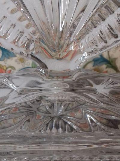Gefaltet SOG Tunnel Vision Tunnelblick Transparenz Kein Durchblick Kristall Cristallo Cristal Glas Glass Transparent Facher Full Frame Indoors  No People Backgrounds Close-up Day UnderSea