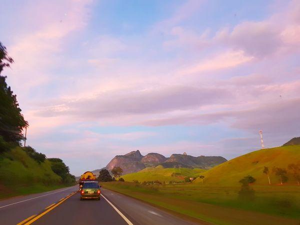 EyeEm Selects Road Highway Transportation Car Driving Landscape Mountain First Eyeem Photo