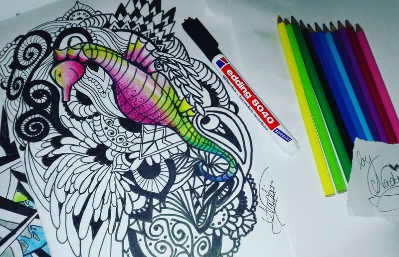Hanging Out Check This Out Cheese! Hello World Enjoying Life Zentangleart Love ♥ Zentangles Drawing Nadinehorn4