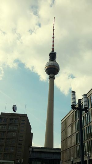 Discover Berlin Architecture Travel Destinations Tourism City Travel Tower Built Structure Building Exterior Cityscape Modern Holiday