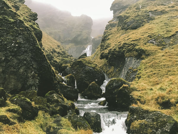 Waterfall in South Iceland Iceland Rock Shot On IPhone ShotOnIphone Beauty In Nature Day Mountain Nature No People Outdoors Rock - Object Scenics Shot On IPhone 7 Shot On IPhone 7 Plus Shotoniphone7 Shotoniphone7plus Sky Tranquil Scene Tranquility Travel Destinations Water Waterfall