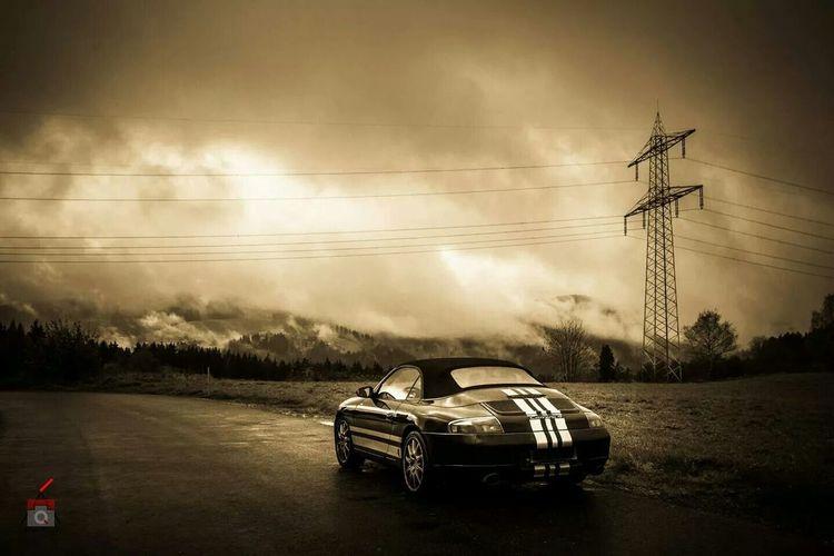 The EyeEm Facebook Cover Challenge Porsche Blackandwhite Monochrome Titisee Schwarzwald 911 996 Cabrio Holiday