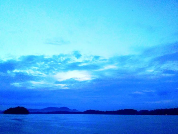 The beauty of Bhramputra River. Sky Nature Beauty In Nature No People Water Blue India Bhramaputra River Blue Water Sea Nature Beauty In Nature First Eyeem Photo