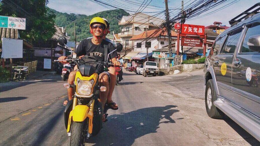 enjoy ride