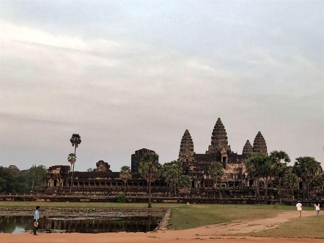 AngkorWatTemple Cambodia UNESCO World Heritage Site Wondersoftheworld