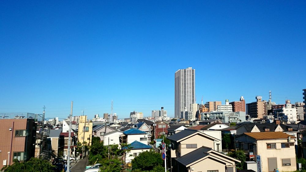Good Morning ☺ Morning Ride  Mobilephotography Buildings & Sky Blue Sky