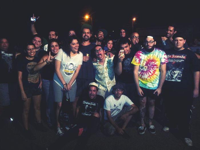 Corillo. Punkrock Puerto Rico Puertorico People Faces Of EyeEm Antisociales Friends Group Photo Buncha Crazies Goodbye