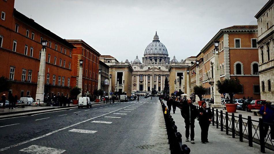 Vatican City Vaticano SanPietro Citta Del Vaticano Basilica Viadellaconciliazione Square Showcase: February