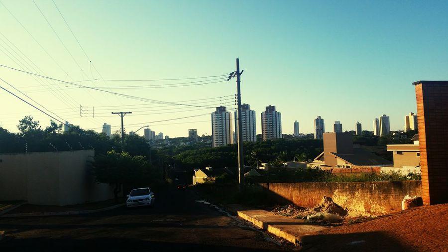 Fim de tarde em Campo Grande