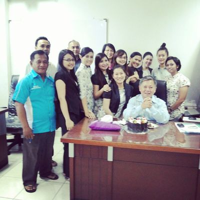 Today Myboss Birthday 60yearsold officeestateHDPamazingsurpriseinstadailyinstagoodinstaphoto